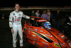 Sponsorship Support Gives Michael Lewis Green Flag