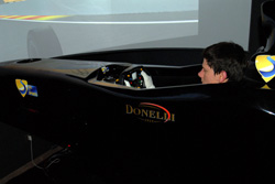 Michael in Race Simulator