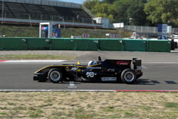 F3 Car At Speed