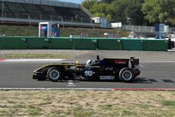 F3 Car At Speed