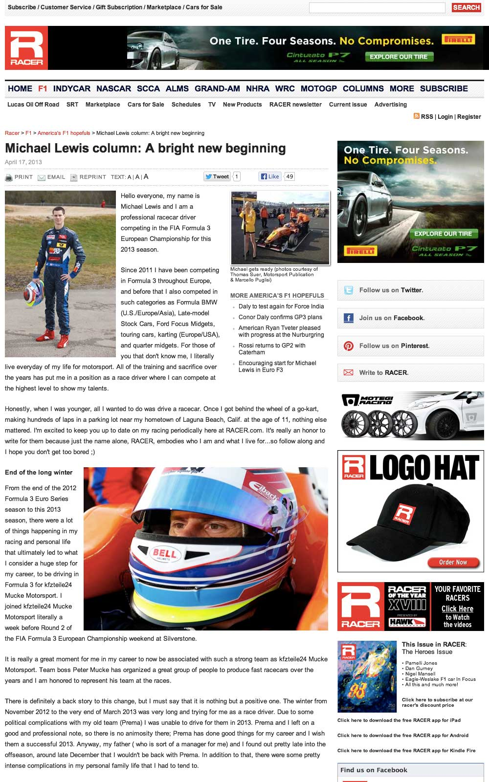 042913 Racer.comArticle lg