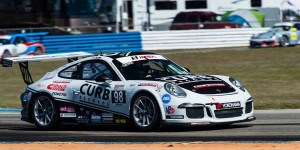 Two strong finishes--8th and 6th, respectively--marked Michael Lewis' first two races in the No. 98 Porsche of Competition Motorsports/Curb-Agajanian at Sebring International Raceway in March, 2014.