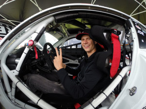 Michael Lewis prepares for the race weekend on May 23-24 at Lime Rock Park in Lakeville, Connecticut. Photos by May Faieta.