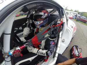 Ready to take the No. 98 Competition Motorsports/Curb-Agajanian Porsche 911 onto the track at Lime Rock Park.