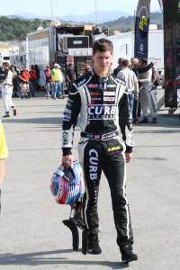 Michael Lewis will travel across the country this week to prepare for his next race at Lime Rock Park in Connecticut.