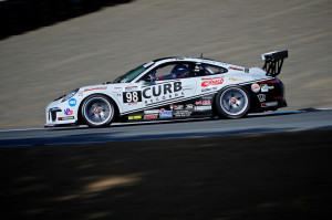 After winning two races at Mazda Raceway Laguna Seca earlier this month, Michael Lewis now stands in second position in the IMSA GT3 Cup Challenge USA by Yokohama points standings.