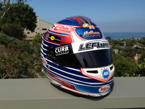 "To commemorate the one-year anniversary of Jason Leffler's death that occurred on June 12, 2013, Michael Lewis will wear a special ""LEFturn"" visor sticker on his Bell Racing Helmet throughout the month of June. Jason's iconic LEFturn graphic can also be seen on the race cars, helmets, and hats of other racing drivers in their respective fields to remember his legacy. Jason Leffler will always be greatly missed in the motorsport community."