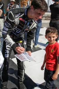 Michael Lewis enjoys meeting fans of all ages, and looks forward to catching up with his Canadian fans this weekend.