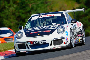 Michael Lewis drove his No. 98 Competition Motorsports/Curb-Agajanian Porsche 911 to fourth- and seventh-place finishes this past weekend at Canadian Tire Motorsport Park in Bowmanville, Ontario.