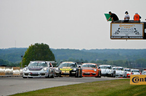 Michael Lewis qualified fastest and claimed the pole position for both Rounds 11 and 12 of the IMSA Porsche GT3 Cup Challenge USA by Yokohama at Road America.