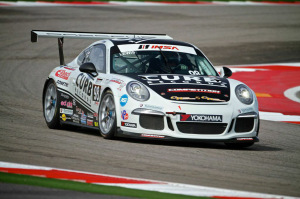 After a first- and second-place finish at Circuit of The Americas, Michael Lewis now stands only one point behind first position in the IMSA Porsche GT3 Cup Challenge USA by Yokohama points standings. Next up is Road Atlanta on October 2 and 3.