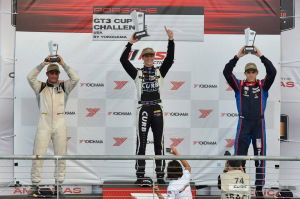 Michael Lewis earned his fourth win of the season in the IMSA Porsche GT3 Cup Challenge USA by Yokohama at Circuit of The Americas in Austin, Texas.