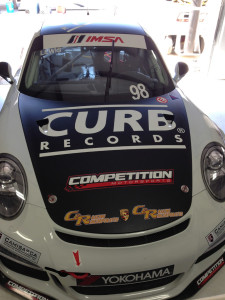 The No. 98 Competition Motorsports/Curb-Agajanian Porsche 911 is scheduled to compete in just four more races before the 2014 IMSA Porsche GT3 Cup Challenge USA by Yokohama concludes next month.