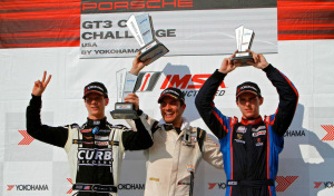 Michael Lewis finished second in the second-to-last race of the 2014 IMSA Porsche GT3 Cup Challenge USA by Yokohama season at Road Atlanta, earning his ninth podium of the season.