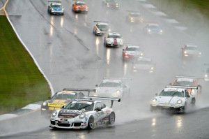 Rain dampened Michael Lewis' chances of completing a championship run as he hit a patch of water on the track and spun just after the second race at Road Atlanta went green. However, Michael had a strong enough position in the points standings to finish the season in third.