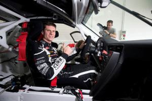 Due to his strong performance this past season in the IMSA Porsche GT3 Cup Challenge USA by Yokohama, Michael Lewis was invited by Porsche Motorsport to participate in a test for a chance to win a scholarship and race in the 2015 Porsche Mobil 1 Supercup series.