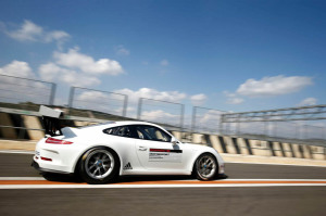 Michael Lewis will find out in the coming weeks if he has earned a scholarship valued at 200,000 Euros to compete in the Porsche Mobil 1 Supercup series for the 2015 race season.