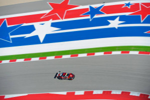 The No. 41 EFFORT Racing/Curb-Agajanian Porsche 911 GT3 R with driver Michael Lewis finished strong in Michael's second visit to the Austin, Texas-based race circuit.