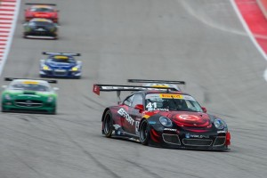 Leading the field of GTA cars at Circuit of The Americas, Michael Lewis and the EFFORT Racing/Curb Agajanian Porsche 911 GT3 R set their sights on Florida this weekend.