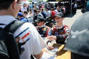 Growing up in Southern California, Michael Lewis hopes for extensive support from friends and family who are attending the Toyota Grand Prix of Long Beach this weekend. Fans in attendance can visit Michael on Saturday, April 18, for the Pirelli World Challenge autograph session from 11:00-11:45 a.m.