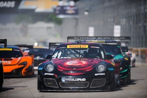 Although Michael Lewis didn't get much track time on the temporary street circuit on Detroit's Belle Isle prior to Round 10 of the Pirelli World Challenge, he still managed to start the race in 6th position and finished the race with a solid 7th.