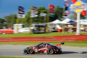 The EFFORT Racing team prepared the No. 41 EFFORT Racing/Curb-Agajanian Porsche 911 GT3 R flawlessly, which allowed Michael Lewis to run toward the front of the pack at Mid-Ohio Sports Car Course this past weekend.