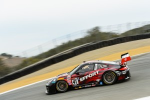 "Michael Lewis attacks the famed ""Corkscrew"" at Mazda Raceway Laguna Seca in Monterey, California."
