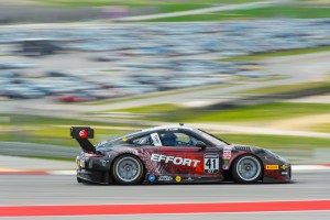 Receiving brand new Porsche 911 GT3 R race cars only one week prior to the first event of the 2016 Pirelli World Challenge (PWC) season, EFFORT Racing quickly prepared a fast race car for Michael Lewis and his teammate Patrick Long.