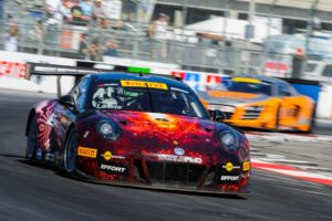 Michael Lewis and the No. 41 EFFORT Racing / Curb-Agajanian Porsche 911 GT3 R head South to Barber Motorsports Park in Birmingham, Alabama, this weekend for Rounds 6 and 7 of the Pirelli World Challenge.