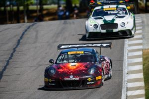 Michael Lewis holds off a competitor to finish 7th in PWC Round 6.