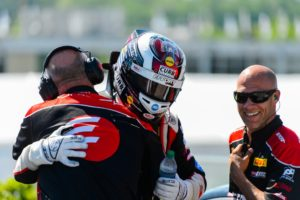 The EFFORT Racing team congratulates Michael Lewis after his solid 5th-place finish at Barber Motorsports Park.