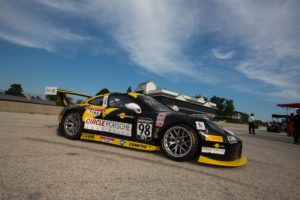 Michael Lewis joined the Calvert Dynamics team in the No. 98 Calvert Dynamics / Curb-Agajanian Porsche 911 GT3 R for Rounds 12 and 13 of the PWC.