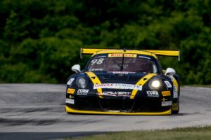 Michael Lewis claimed a 10th-place finish in Round 12 of the Pirelli World Challenge at Road America on Saturday, June 25. Photos by Brian Cleary.