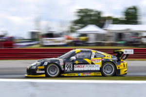 Michael drove the No. 98 Calvert Dynamics / Curb-Agajanian Porsche 991 GT3-R to the 6th fastest time of 22 competitors in Round 14 of the Pirelli World Challenge on Saturday, July 30.