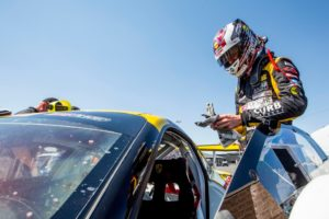 In addition to his normal driving duties in the GT class of the Pirelli World Challenge, Michael Lewis was able to participate in the series' newest division, SprintX, with positive results.