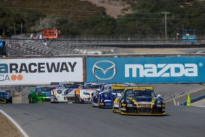 Starting Round 6 of the Pirelli World Challenge SprintX race from the pole on Sunday, October 9, Michael Lewis set the fastest lap of the race before retiring due to a mechanical issue.